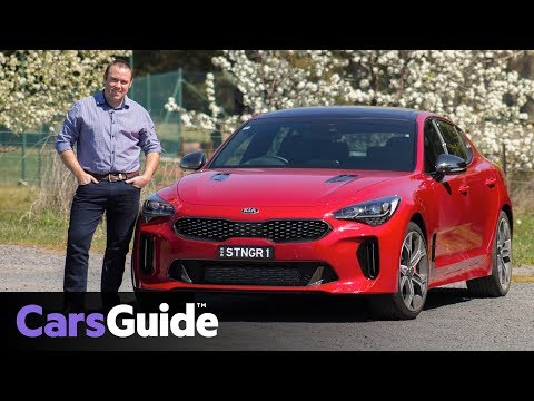 Kia Stinger 2017 review: first drive video