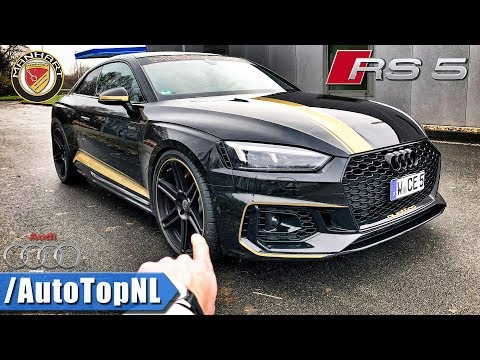 500HP Audi RS5 Manhart RS500 REVIEW POV on AUTOBAHN by AutoTopNL