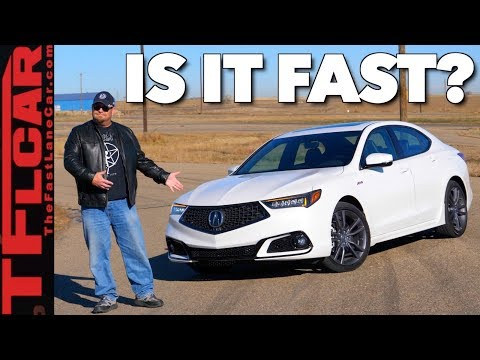 How Fast? 2018 Acura TLX A-Spec Driven and Reviewed