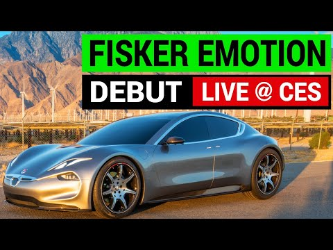 Fisker EMotion Unveiled At CES 2018 with 400 mile range