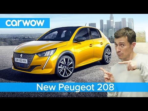 New Peugeot 208 hatch 2020 - see why it's WAY cooler than a VW Polo or Ford Fiesta