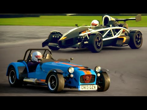 Caterham 620R  vs. Ariel Atom 3.5R - Fifth Gear