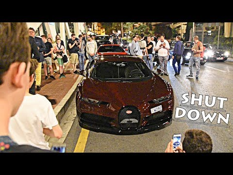 $5 MILLION Bugatti Chiron SHUTS DOWN MONACO!