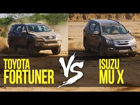 Toyota Fortuner VS Isuzu MU-X: Can The New Comer Take On The King?