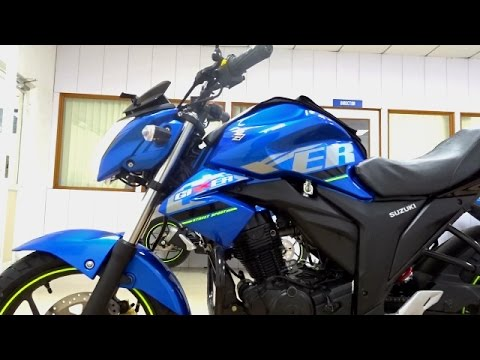 Suzuki Gixxer BS4 2017 Walkaround All Colours, Test Ride Review
