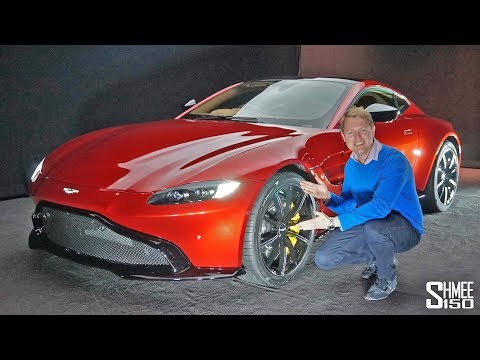 THIS is the NEW Aston Martin Vantage! | FIRST LOOK