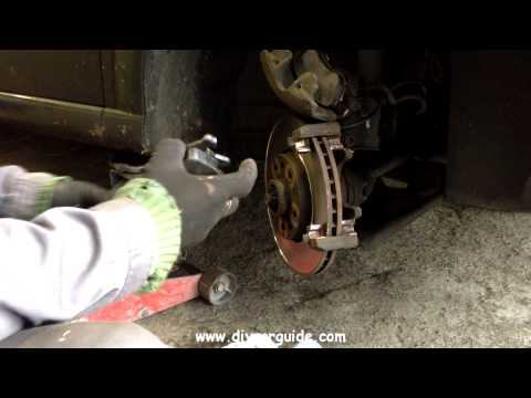 Replacing Front Brake Pads On Vauxhall and Opel Meriva