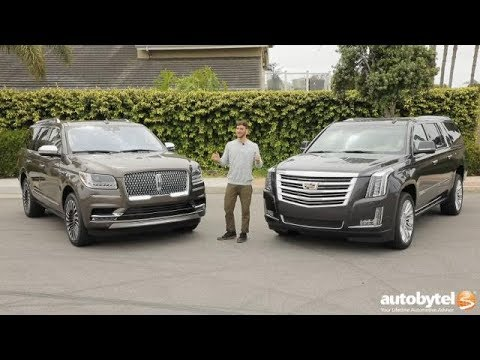 Full-Size American Luxury SUV Comparison: 2018 Lincoln Navigator vs 2018 Cadillac Escalade