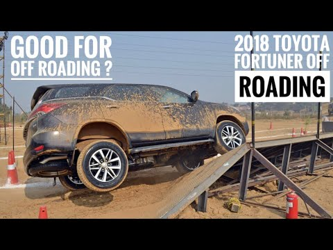 2018 Toyota Fortuner off -road Drive | offroading with fortuner | 2018 Toyota Fortuner | off road