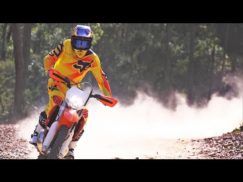 ON THE PIPE - KTM 250EXC