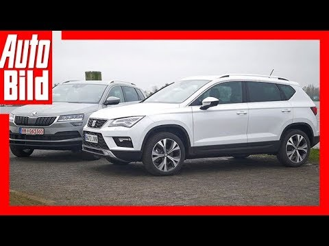 Seat Ateca vs Skoda Karoq (2017) Test/Review/Details