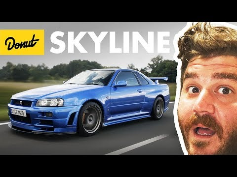 Nissan Skyline - Everything You Need to Know | Up To Speed | Donut Media