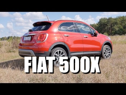 Fiat 500X (ENG) - Test Drive and Review