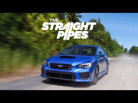 2018 Subaru WRX STI Review on Pavement and Gravel - Yuri and Jakub Go For a Drive