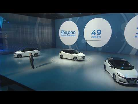 Live Stream Archive: New Nissan LEAF World Premiere