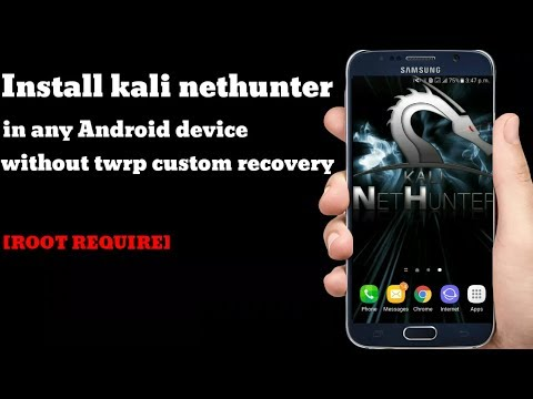 How To Install Kali NetHunter In Non-Rooted Android Phone | Kali