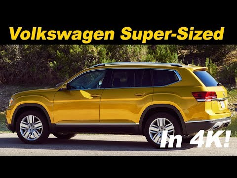 2018 Volkswagen Atlas Review and Road Test in 4K UHD!