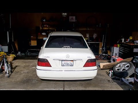 Acura RL Axles Destroyed!