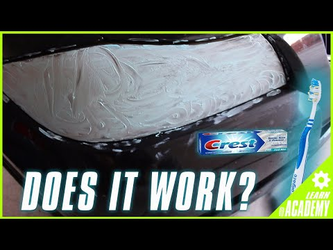 USING TOOTHPASTE TO RESTORE HEADLIGHTS! (BMW E90)