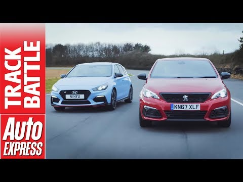 Hyundai i30 N vs Peugeot 308 GTi - which hot hatch is fastest?