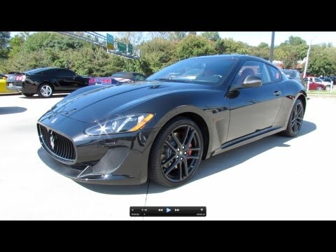 2013 Maserati GranTurismo MC Sport Line Start Up, Exhaust, and In Depth Review