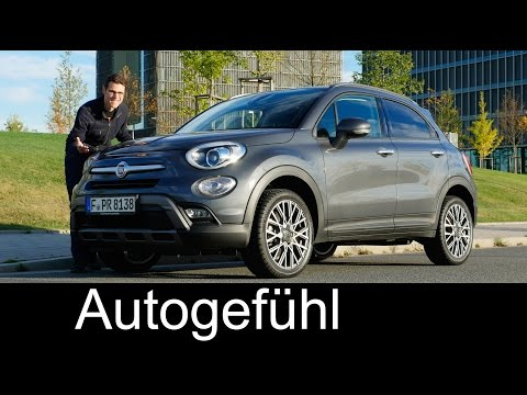 Fiat 500X FULL REVIEW test driven Crossover/Trekking Multijet - Autogefühl