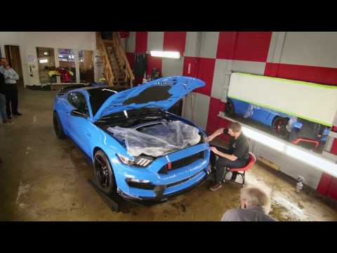 The Birth of GRAB R - Benchmark Auto Salon Detail and Paint Protection Film on 350R