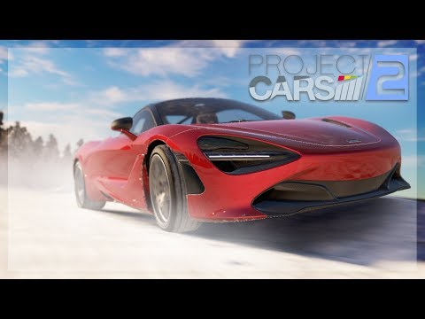 DRIVING THE MCLAREN 720S ON ICE! w/Wheel Cam (Project Cars 2)