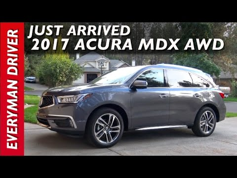 Just Arrived: 2017 Acura MDX AWD on Everyman Driver