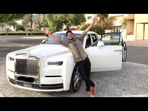 I HAVE A ROLLS ROYCE PHANTOM VIII😍 *for one day*😂