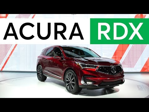 2018 Detroit Auto Show: 2019 Acura RDX Gains Advanced Safety and More Power | Consumer Reports