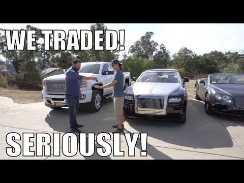 Traded My Truck For A Rolls Royce! *NOT CLICKBAIT*