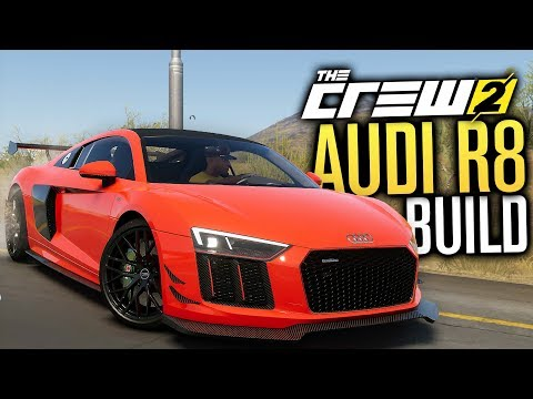 NEW AUDI R8 V10 Customization | The Crew 2 Early Gameplay