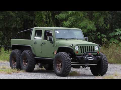 Bruiser Conversions Brings a 6x6 Jeep to the 2017 Battle of the Builders