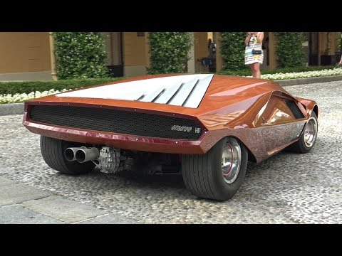 1970 Lancia Stratos HF Zero Concept - Start Up Sound, Driving, Overview & More!
