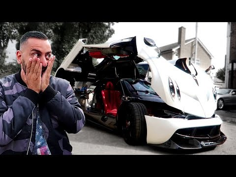 Pagani Huayra Leaves Yianni Speechless