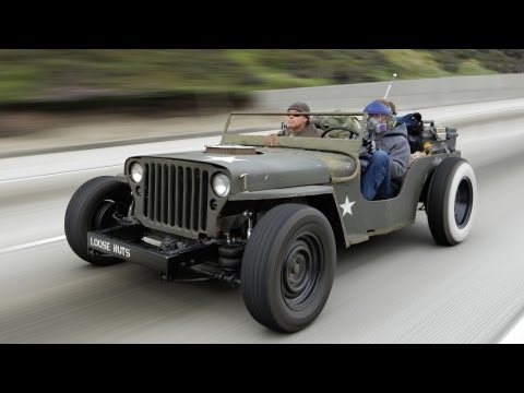 Rat Rod Jeep Death-Wish Trip! - Roadkill Episode 15