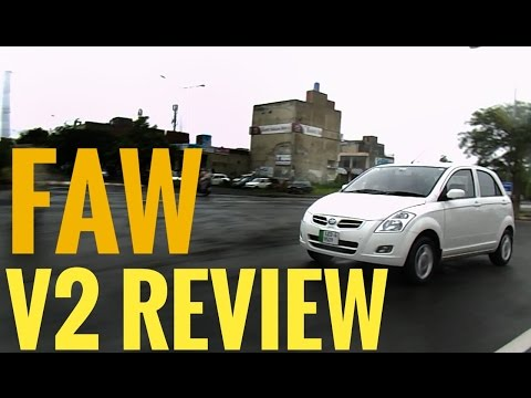 FAW V2 Hatchback 1.3L Chinese car: Review | Specs and features | Urdu