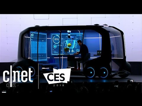 Toyota reveals e-Palette, a multifunctional, moving city at CES 2018