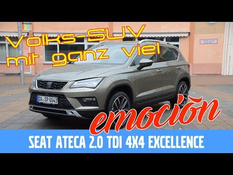Seat Ateca 2.0 TDI (150 PS) Excellence - Test, Review und Fahrbericht