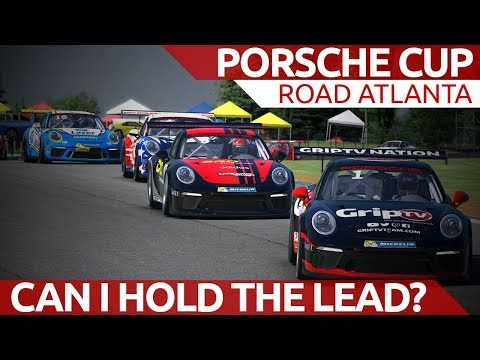 Can I hold the lead? Porsche Cup at Road Atlanta