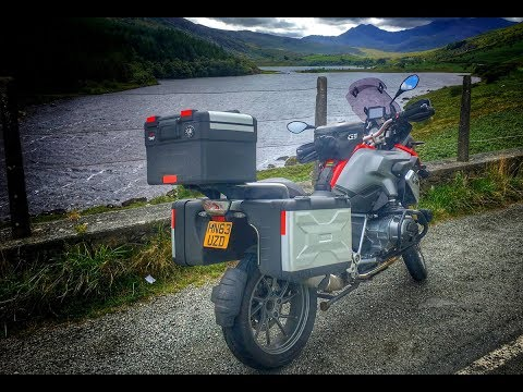 Tour of Wales by BMW R1200GS - Ep 2: Betws-y-coed to Capel Curig